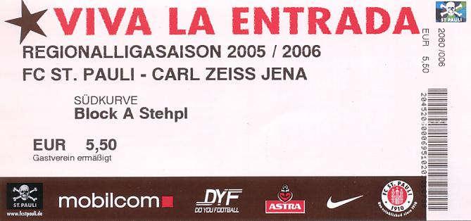 Tickets St. Pauli