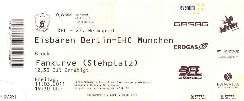 Berliner Eisbären Tickets